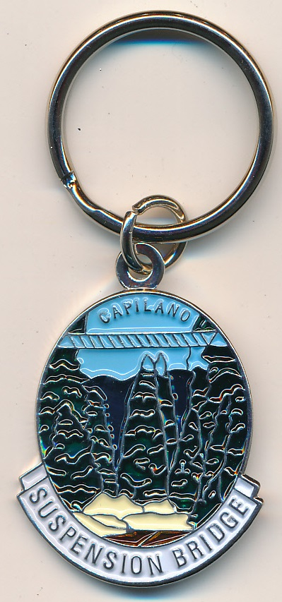 Capilano Suspension Bridge Key Chain