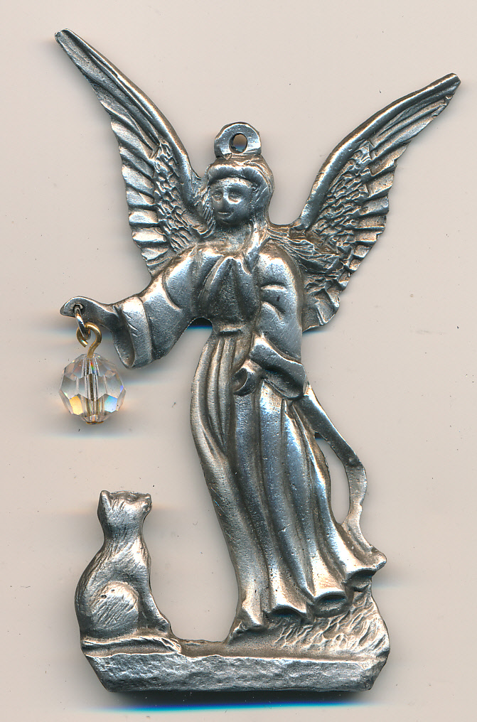 Angel with Cat