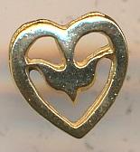 Dove in Heart