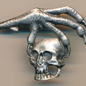 Eagle talon with Skull