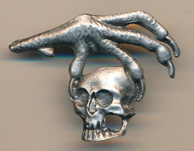 Eagle talon with Skull