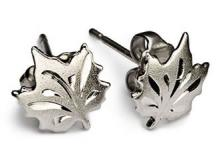 Sterling Silver Maple Leaf