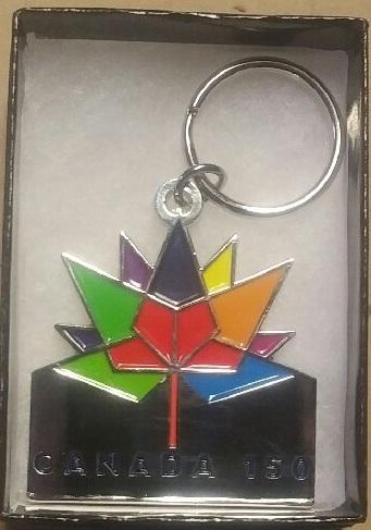 Canada 150 Key Chain