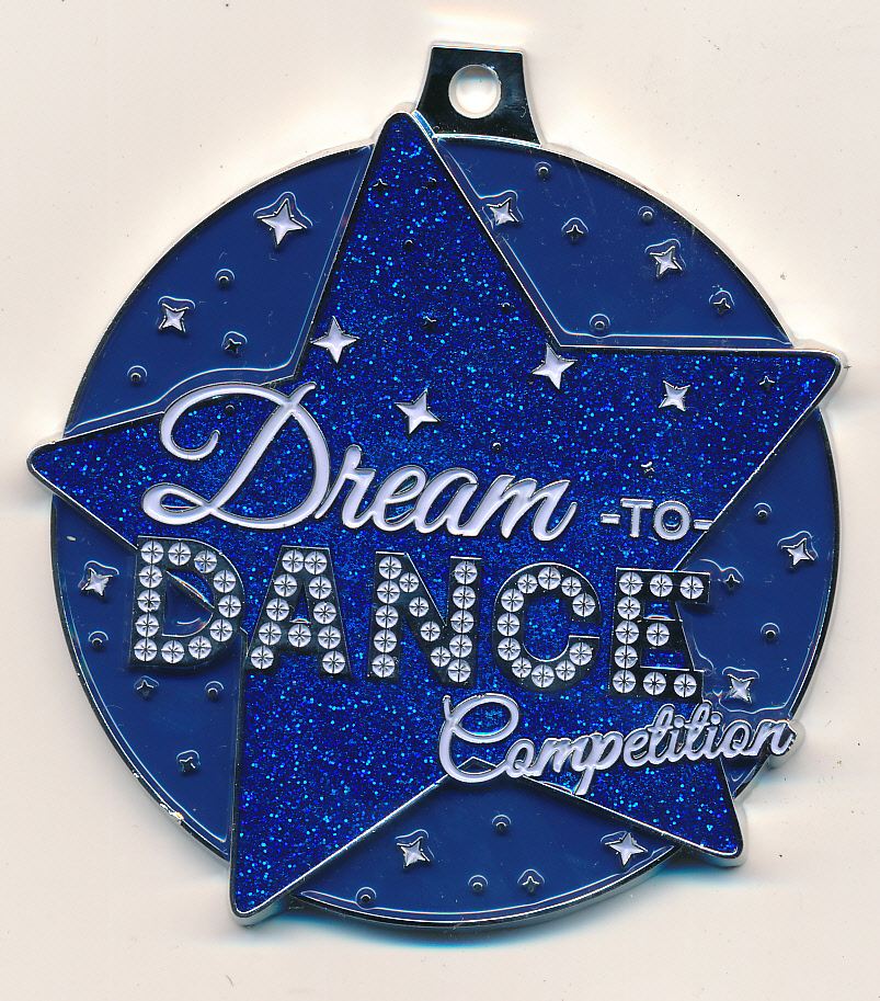 Custom Medal with Glitter